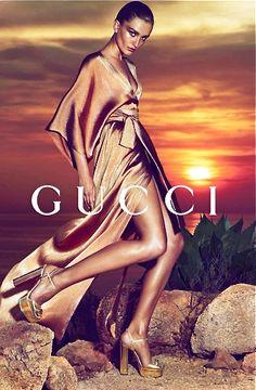 Andreea Diaconu by Mert Alas and Marcus Piggott for Gucci, 2014 Campaign