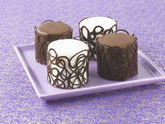 Monday Mini cake collars--inspiration