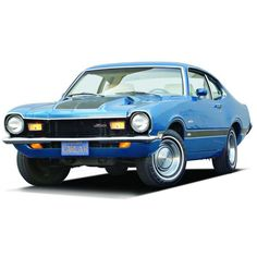 1971 75 Ford Maverick Grabber ❤ liked on Polyvore featuring transportation and cars