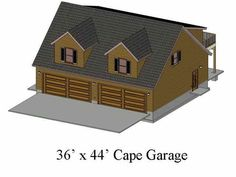 1000 images about garage apt on pinterest garage plans for Sip garage plans