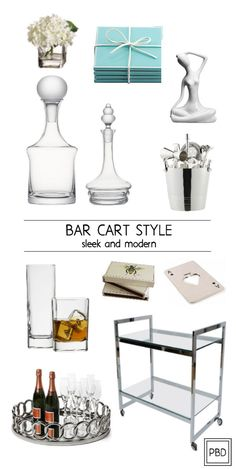 How to Style a Bar Cart | Progression By Design