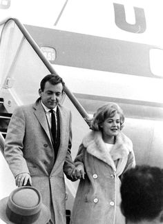 Bobby Darin & Sandra Dee........Just looking at the frames of  their life you would think they were happy. A very sad story of fame gone wrong. Still love Bobby Darin. Brilliant man!
