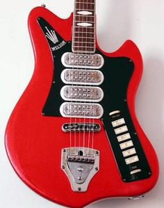 Guitars with Unique Pickups Music Guitar, Guitar Amp, Cool Guitar, Playing Guitar, Acoustic Guitar, Unique Guitars, Vintage Guitars, Fender Electric Guitar, Play That Funky Music