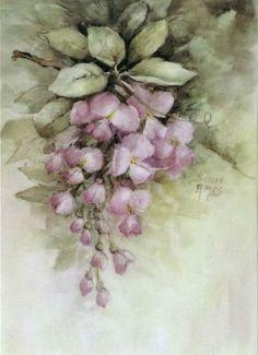 Floral Vintage, Vintage Paper, Vintage Flowers, Vintage Art, Vintage Prints, Arte Floral, Vintage Pictures, Vintage Images, China Painting