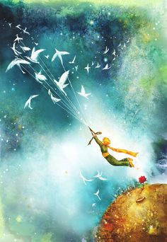 Babylonia: 6 Lovely Lessons from The Little Prince , The Best Book of my Childhood The Little Prince Movie, Little Prince Quotes, Little Princess, Tumblr Wallpaper, Galaxy Wallpaper, Le Petit Prince Film, Thomas Kinkade, Cute Cartoon Wallpapers, Cute Art