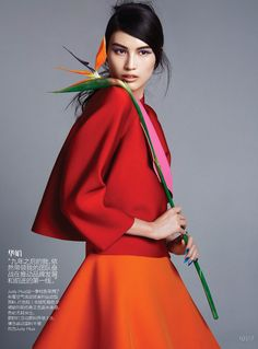Vogue China September 2014 | Sui He by Trunk Xu
