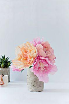 DIY | Paper Peonies