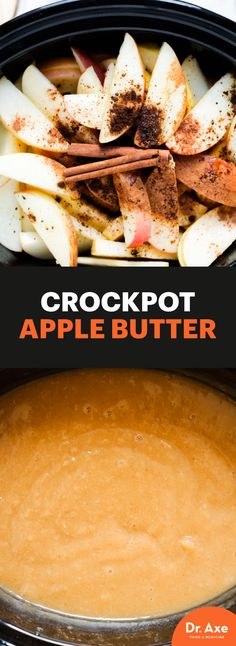 This Crockpot Apple Butter is sure to get you in the fall spirit!