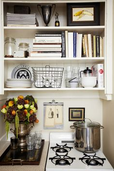 accessorize a small kitchen