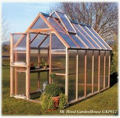 Build Your Own Greenhouse | 10 Tips for Building a Small Greenhouse - My Greenhouse Plans #shedbuildingdesign