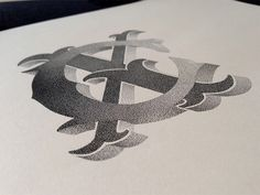 Beautiful Stippled Hand Lettering and Illustrations by Xavier Casalta typography stippling illustration