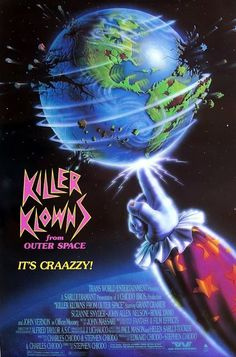 70's 80's Films: Killer Klowns from Outer Space (1988)