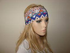 yoga headband fitness headband workout headband by OtiliaBoutique