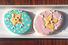 Easter decorated cookies by Sweet Rewards