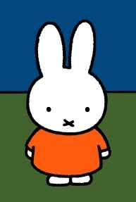 Miffy (Dutch: Nijntje) is a small female rabbit in a series of picture books drawn and written by Dutch artist Dick Bruna. miss you so much , miffy Female Rabbit, Easter Arts And Crafts, Children's Book Characters, Happy 60th Birthday, Famous Cartoons, Miffy, Dutch Artists, Cute Kittens, Easy Sewing Projects