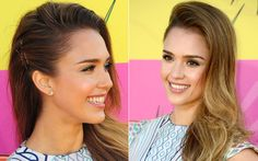 Kids' Choice Awards inspire-se nos penteados das famosas! Kids Choice Awards 2013, Kristen Stewart, How To Make Hair, Updos, Hair Beauty, Hairstyle, Jessica Alba, Hair Ideas, Sexy