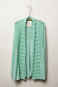 Visionary Backpleat Cardigan - anthropologie.com