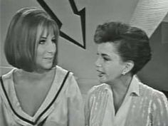 "(Videotaped on Friday, October 4, 1963.) This is a duet composed of Barbra's ""Happy Days"" and Judy's ""Get Happy"". It was later revealed that it was Judy who put this duet- more an interpolated piece-together! License:  Standard YouTube License"