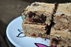 Choc chip Cookie bars w/ protein