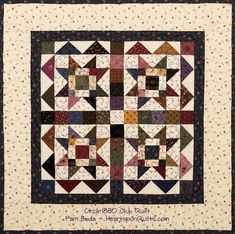 Heartspun Quilts ~ Pam Buda: The Circa 1880 Club Quilts Nancy Zieman, Barn Quilt Designs, Quilting Designs, Small Quilts, Mini Quilts, Quilt Kits, Quilt Blocks, History Of Quilting, Nine Patch Quilt
