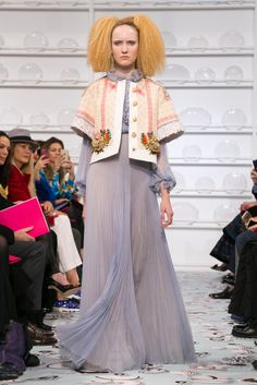 Tasty Couture looks from Schiaparelli.