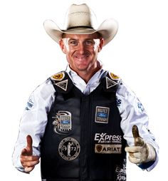 Cord McCoy  Tupelo, OK ALWAYS HAS A SMILE, NO MATTER WHAT.  PBR