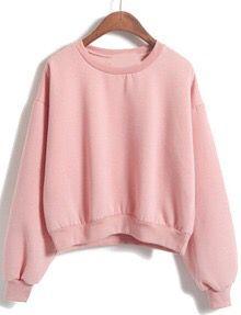 ROMWE pink sweater