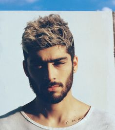 Zayn Malik (former One Direction) goes shirtless for Fader! www.wmfeed.me