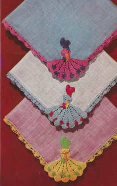 INSTANT DOWNLOAD PDF Vintage Crochet eBook Crinoline Lady  A Copy of the Complete Book, 15 Pages
