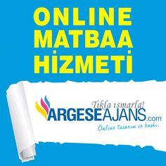 Zahmetsizce ve zaman kaybına girmeden masa başından bir tık ile matbaa işlerinizi yaptırabilirsiniz http://www.argeseajans.com