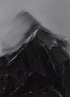 "Conrad Jon Godly  ""Between Heaven and Earth"" (2009), oil on linen"