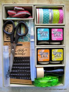 Travel Art Kit by Andrea for the Simon Says Stamp Monday challenge