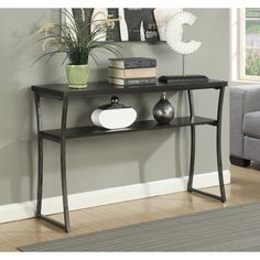 Convenience Concepts X-Calibur Metal Console Table