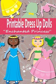 Printable Dress Up P