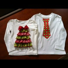 I wonder if Seth would wear something like this with me this christmas... :)