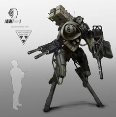 ArtStation - Snood Mech Photobash, Tom McDowell