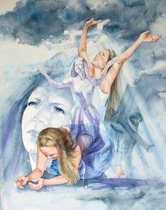 Worship  Christian Art  Christian Watercolor  by MarybethArtStudio, $38.00
