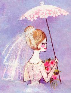 Retro-Bridal-Shower-2-ca-1970-artist-unknown