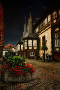 The old town hall in Einbeck, Germany