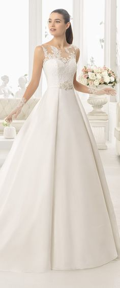 Best Wedding Dresses of 2017 - Wedding Dress by Aire Barcelona 2017 Bridal Collection #bestof2017 #weddingdress #bridalgown #weddingdresses #weddings #bride