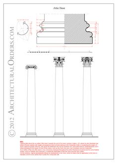 Ionic Order: Attic base