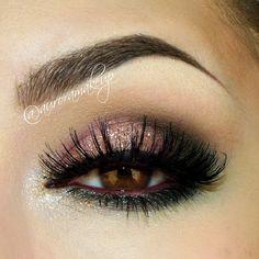 Smokey eye very romantic