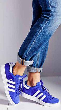 cobalt suede sneakers