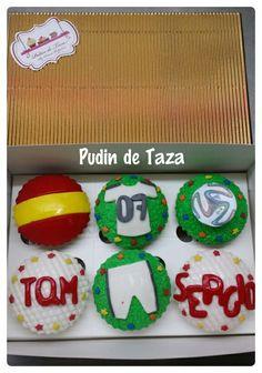 Cupcakes  fútbol