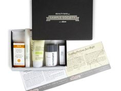 Sick of Birchbox? Join the Sample Society