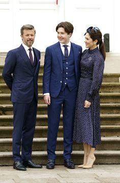 Denmark Royal Family, Danish Royal Family, Crown Princess Mary, Prince And Princess, Prince Christian Of Denmark, Prince Frederick, Queen Margrethe Ii, Danish Royalty, Royal Clothing