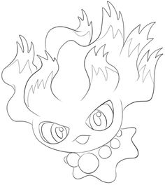 Click To See Printable Version Of Misdreavus Coloring Page