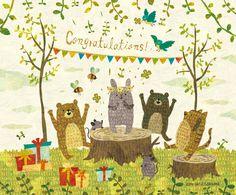 Congratulations! By Megumi Inoue (Muumegu) http://sorahana.ciao.jp/