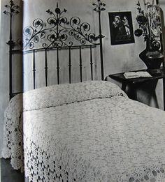 Mamadoggie blogt!: vintage patronen gehaakte spreien