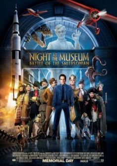 "Some posters from some of my favorite Robin Williams' movies: ""  NIGHT AT THE MUSEUM 2 -2009 Orig D/S Final MOVIE POSTER 27X40 - ROBIN WILLIAMS"